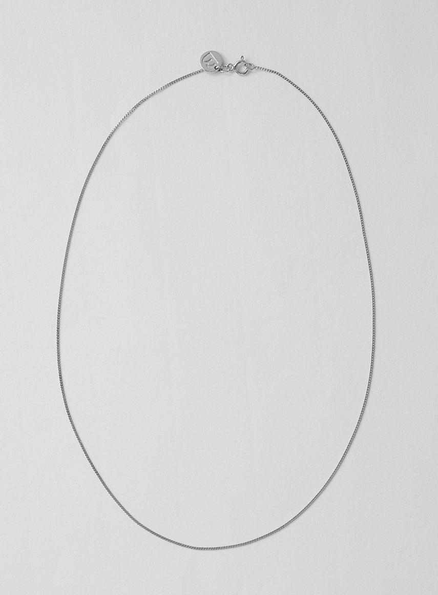 plain kedja silver 45 cm